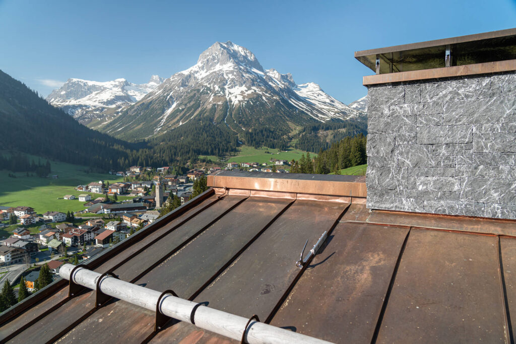Spenglerei Burtscher Vorarlberg, Spenglerarbeiten, Dachspengler, Dacheindeckung, Dachsanierung, Kupferdach